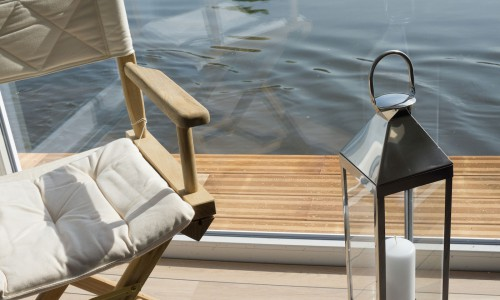 ansicht im Hausboot