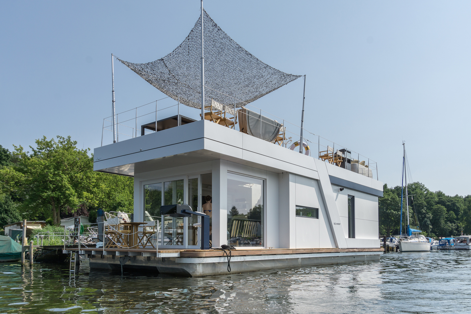 H2 Loft – Berlins exklusivstes Hausboot